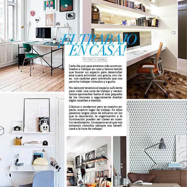 Hunter Magazine: ¡el trabajo en casa!
