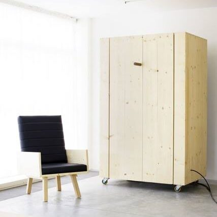 Espacios y muebles multifuncionales mobiliario visteme for Mueble cama plegable