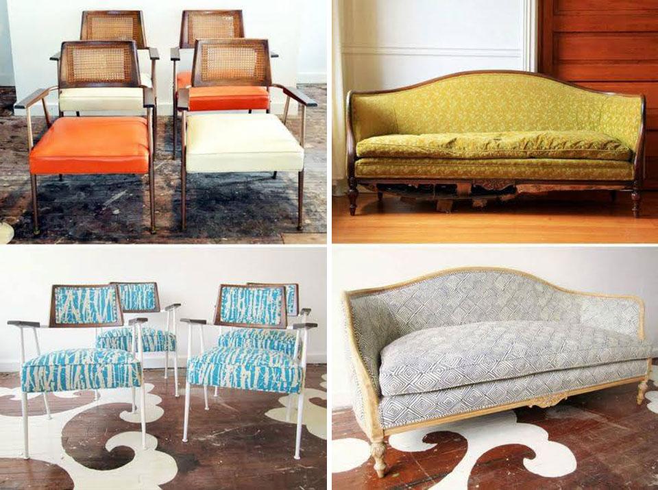 Ideas recuperar viejos muebles