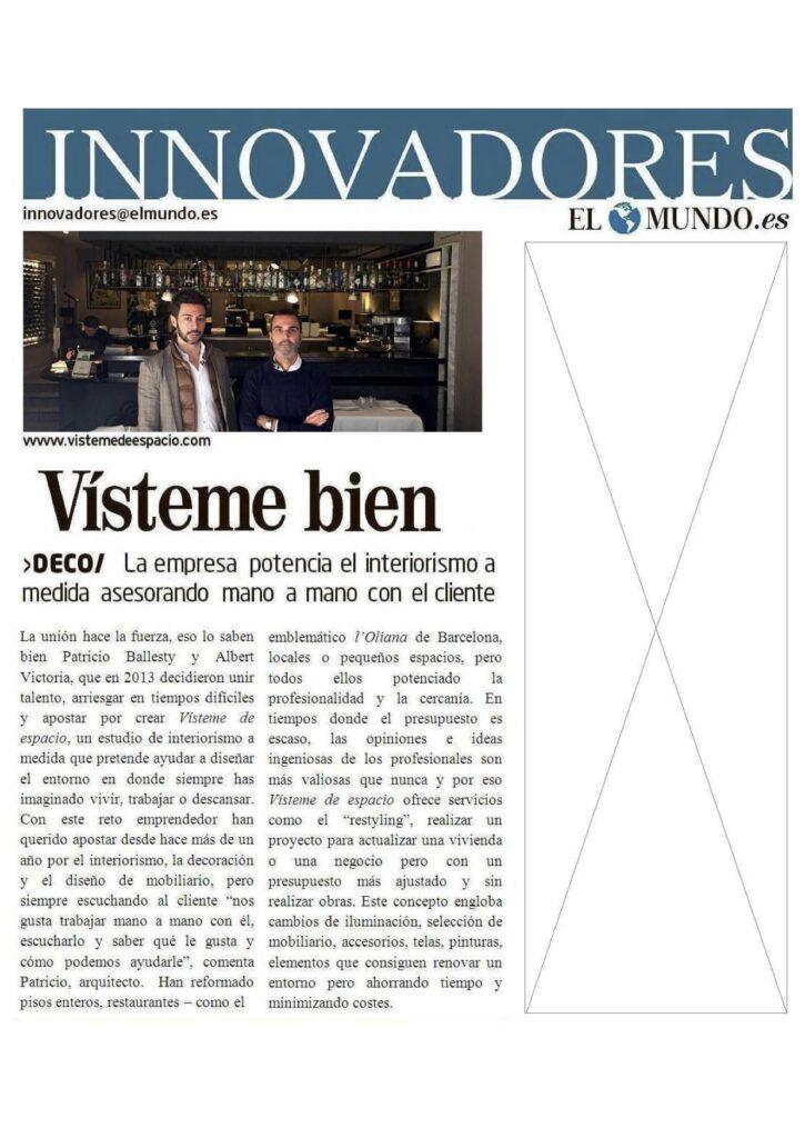 Interiorismo innovadores