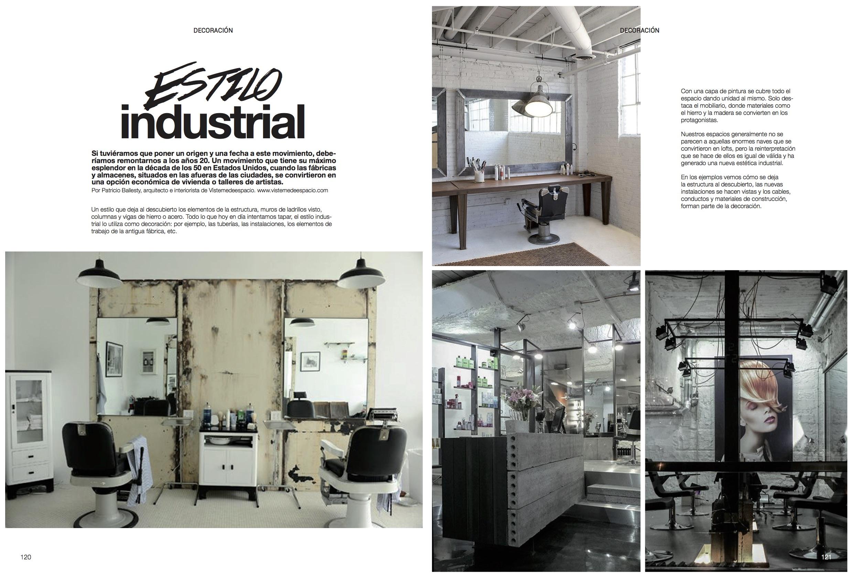 Estilo industrial visteme de espacio - Mobiliario estilo industrial ...
