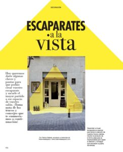interiorismo barcelona escaparatismo